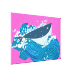 Whale Gallery Wrapped Canvas
