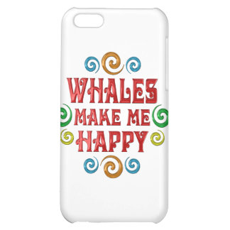 Whale Happiness iPhone 5C Case