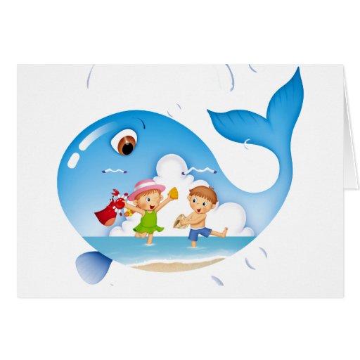 Whale Harbor Card