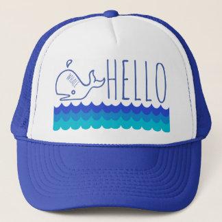 Whale Hello Trucker Hat