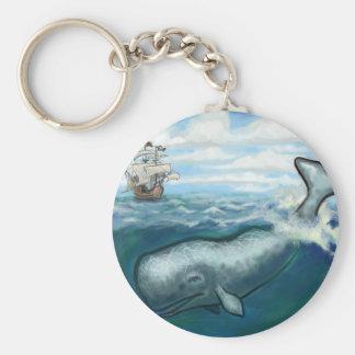 Whale Ho Keychain