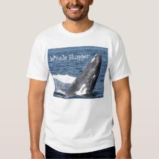 Whale Hugger T Shirt