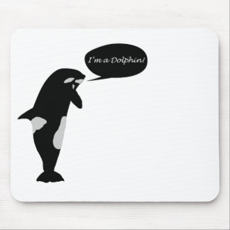 Whale Identity Crisis Mouse Pad