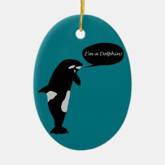 Whale Identity Crisis Ornament