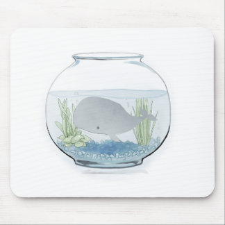 Whale in a Fishbowl 2 Mouse Pad