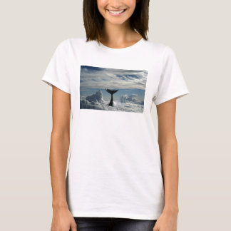 Whale in clouds T-Shirt