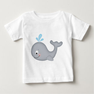 Whale in sea baby T-Shirt