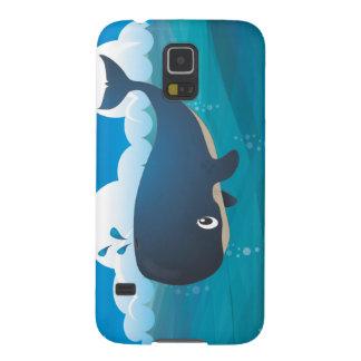 Whale in the Deep Blue Sea. Samsung Galaxy Nexus Case