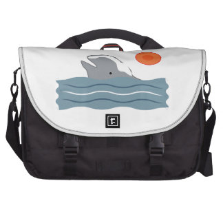 Whale In The Ocean Computer Bag