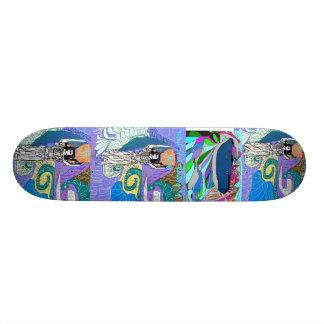 Whale in the Rockies Skateboard