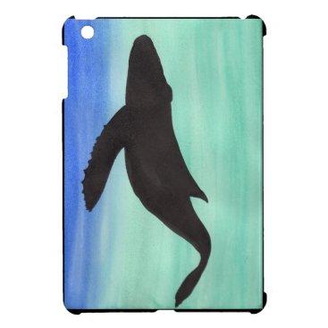 Beach Themed Whale iPad Mini Covers