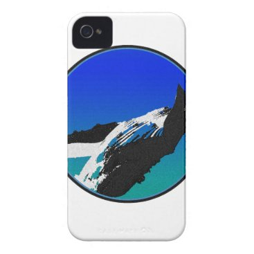 Beach Themed Whale iPhone 4 Case