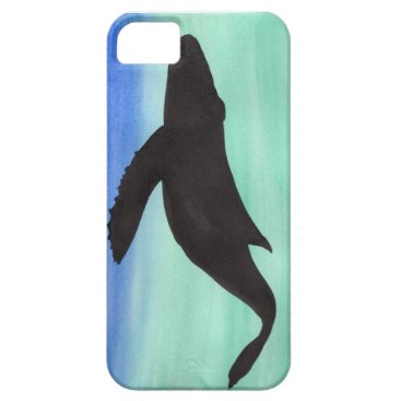 Beach Themed Whale iPhone SE/5/5s Case
