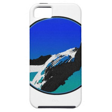 Beach Themed Whale iPhone SE/5/5s Case