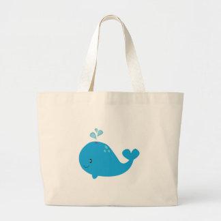 Whale Jumbo Tote Bag
