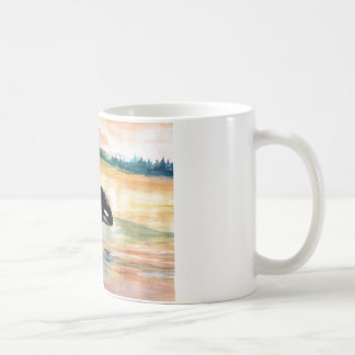 Whale Jumping Orca White 325 ml  Classic White Mug