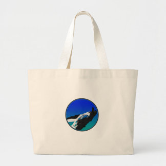 Whale Large Tote Bag