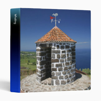 Whale lookout 3 ring binder