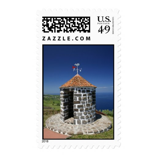 Whale lookout postage stamps