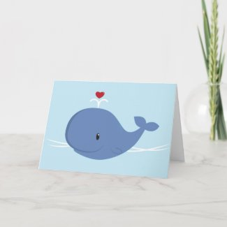 Whale love cards