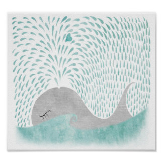 Whale Love Poster