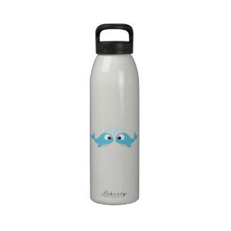 Whale Love Reusable Water Bottle