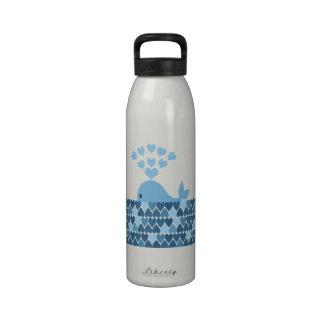 Whale Love Water Bottle
