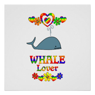 Whale Lover Poster