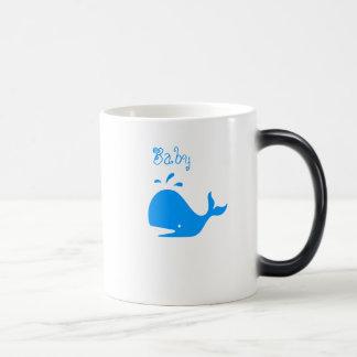 Whale Mania_Family Style Baby Whale morphing Magic Mug