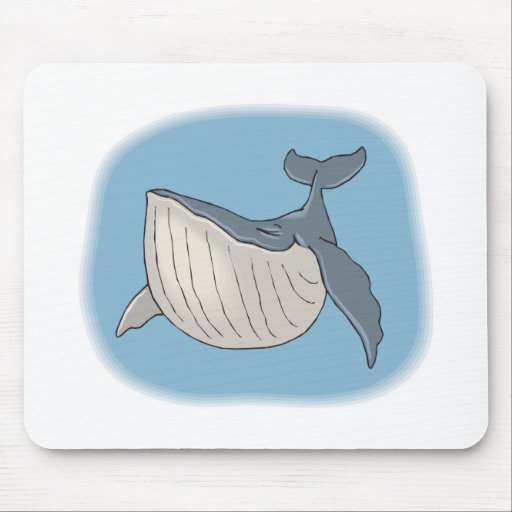 whale mouse mat