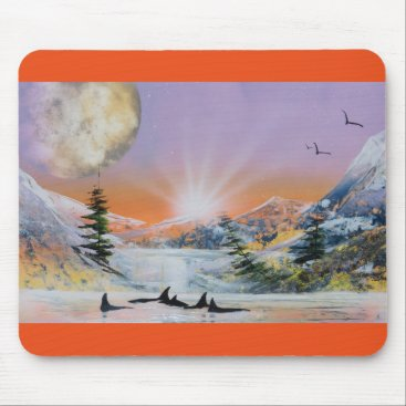 Professional Business Whale mousepad