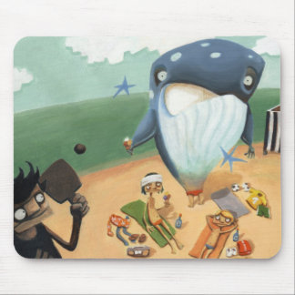 whale mouse pad