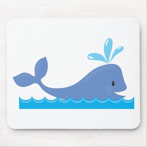 Whale Mousepad