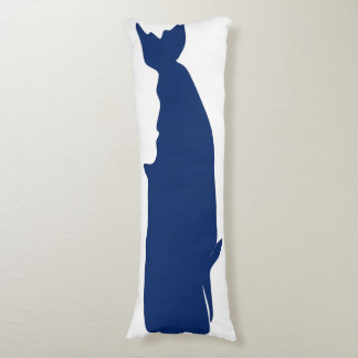 Whale Navy Body Pillow
