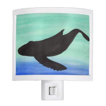 Beach Themed Whale Night Light