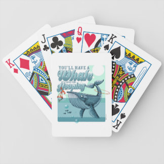 Whale of a Good Time playing cards