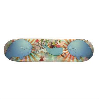 Whale of a good time custom skateboard