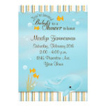Whale of a great Baby Shower invitation