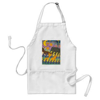 Whale of a Tail Adult Apron