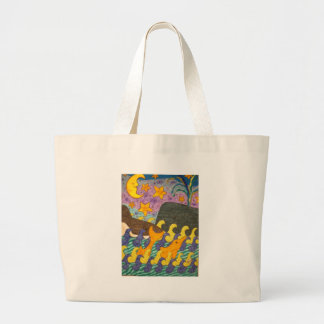 Whale of a Tail Tote Bags