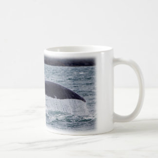 Whale Of A Tail Classic White Coffee Mug