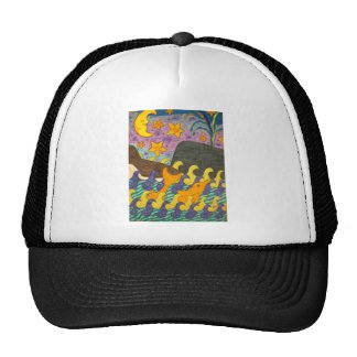 Whale of a Tail Mesh Hats