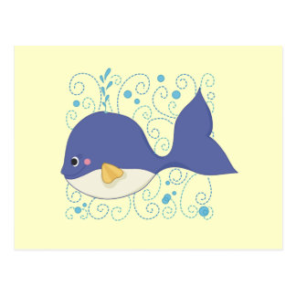 Whale of a Tail T-shirts and Gifts Post Cards