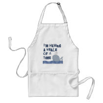 Whale of a Time Adult Apron