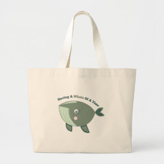 Whale Of A Time Tote Bags