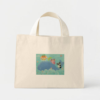 Whale Of A Time! Mini Tote Bag