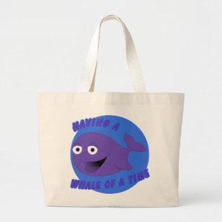 Whale of a Time Jumbo Tote Bag