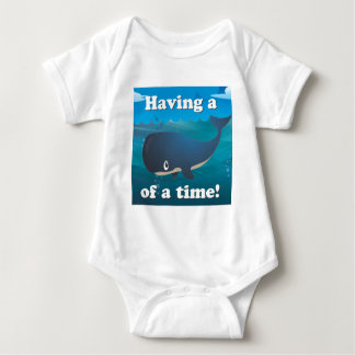 Whale of a time - Deep Sea Edition Baby Bodysuit