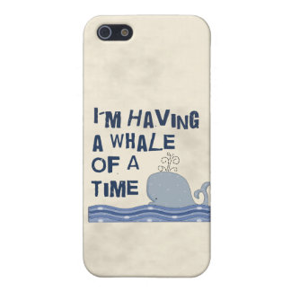 Whale of a Time iPhone SE/5/5s Cover