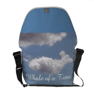 Whale of a Time! Messenger Bags